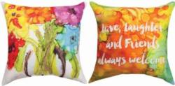 Happy Bouquet Reversible CLIMAWEAVE Pillows