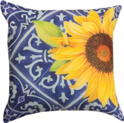 NEW Indigo Sunflower CLIMAWEAVE Pillows