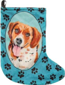 Benny The Beagle Christmas Stocking