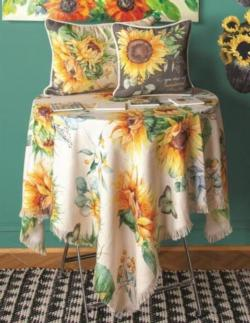 Sunflower Fields Table Topper