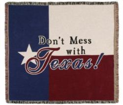 SALE Texas State Flag Tapestry Throw