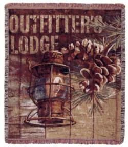 SALE Outfitter's Lodge Tapestry Throw