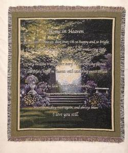 Home in Heaven Throw Blanket