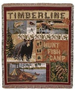Timberline Tapestry Throw