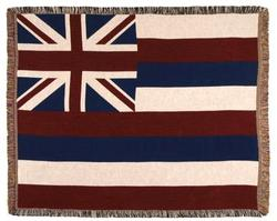 Hawaii State Flag Tapestry Throw