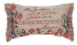 SALE Garden of Love Tapestry Word Pillow