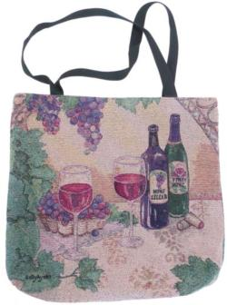 SALE Wine Cellar Tapestry Tote