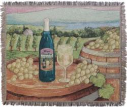 Wine Country Tapestry Throw