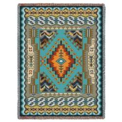 Painted Hills Sky Tapestry Throw