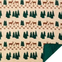 Denali Deer Microplush ® Blanket