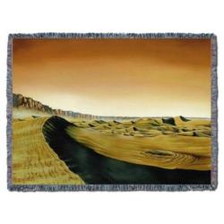 NEW Valles Marineris Dunes Tapestry Throw