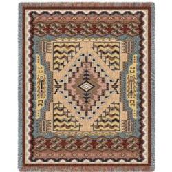 SALE Southwest Butte Clay Tapestry Throw