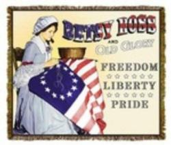 Betsy Ross Tapestry Throw