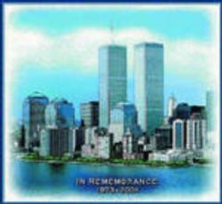 World Trade Center Memorial Tapestry Throw