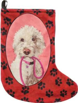 Abby the Doodle Christmas Stocking