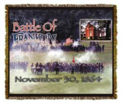 Battle of Franklin Tapestry Throw