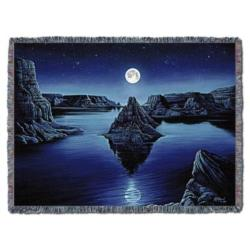 Moon Spirit Tapestry Throw