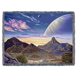 Pinnacle Peak Vista Tapestry Throw