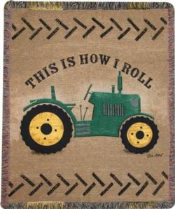 NEW This Is How I Roll Tapestry Throw