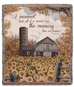A Moment Lasts Tapestry Throw