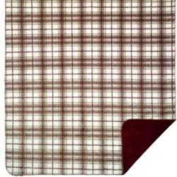 Denali Tartan Plaid Driftwood Microplush ® Blanket