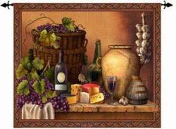 Wine Tasting Wall Art Tapestry