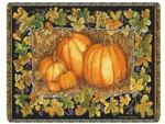 The Pumpkin Patch Tapestry Throw