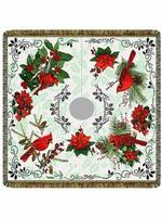 "Winter Elegance 54"" Tapestry Christmas Tree Skirt"