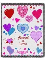 Covered In Love Throw Blanket