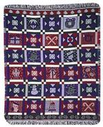 NEW Christmas Patchwork Throw Blanket