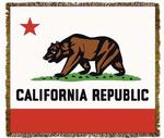 California State Bear Tapestry Throw