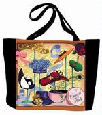 Church Hats Tapestry Tote Bag