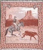 Range Roper Throw Blanket