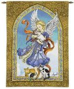 Angel of Cats Tapestry Wall Hanging