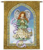 Angel of Prayer Tapestry Wall Hanging