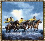 Thunder and Mud Tapestry Throw