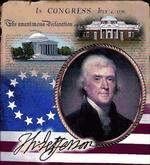 Thomas Jefferson Tapestry Throw