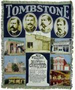 Tombstone Tapestry Throw