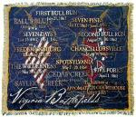 Virgina Battlesfields Tapestry Throws