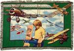 Aviation Youth Tapestry Throw