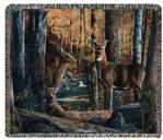 Broken Silence II Tapestry Throw