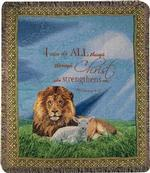 I Can Do All Things, Philippians 4:13 Tapestry Throw