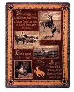 Saddlebag Quotes Tapestry Throw