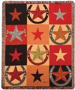 Star Patterns Tapestry Throw