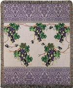The Vintner's Cottage Tapestry Throw