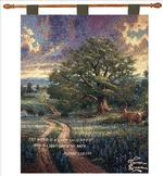 Country Living Psalm 119:105 Tapestry Wall Hanging