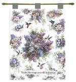 Whisper Wings Psalm 91:4 Tapestry Wall Hanging