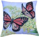 NEW Monarchs at Play 3-D Printed Fabric Pillow