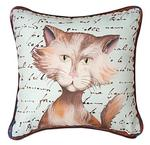 Purrfect Poses Striped Cat, CLIMAWEAVE Pillows