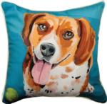 Benny The Beagle Throw Pillow